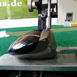Golfschläger Fitting